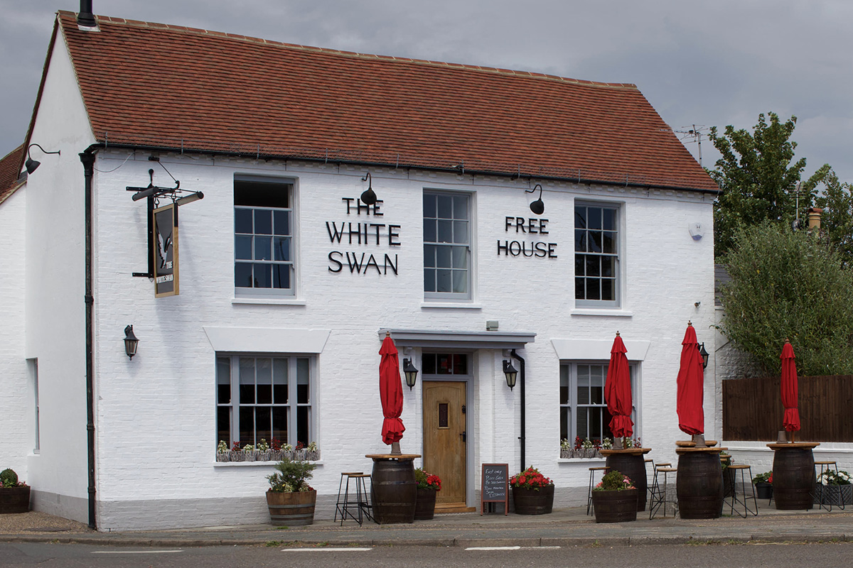 The White Swan is Open!